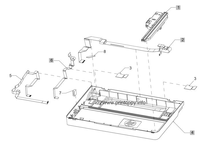 Parts Catalog > HP > LaserJet M225dw Pro MFP > page 8