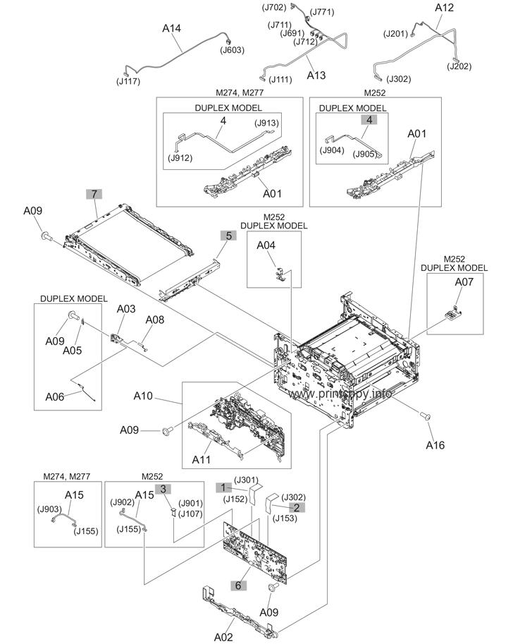 Parts Catalog > HP > Color LaserJet Pro MFP M277 > page 6