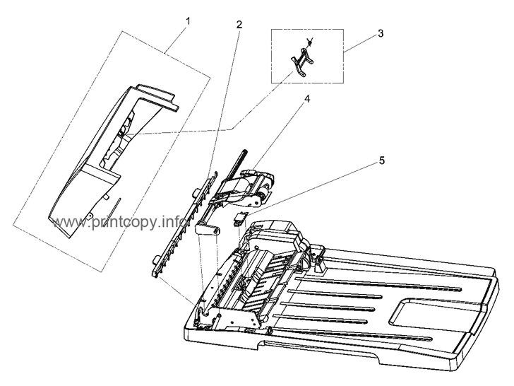 Parts Catalog > HP > LaserJet M2727 MFP > page 3