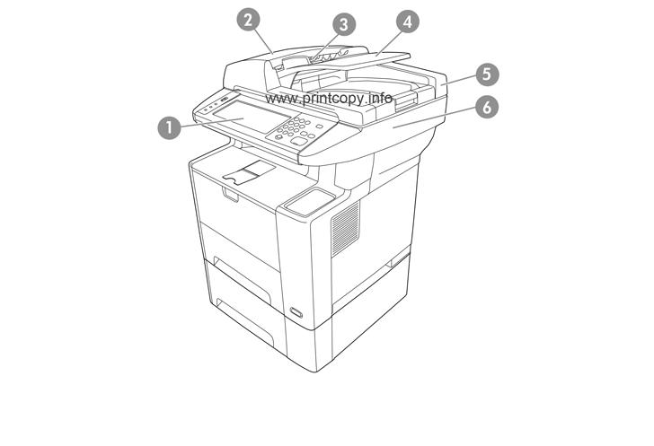 Parts Catalog > HP > LaserJet M3035 MFP > page 1