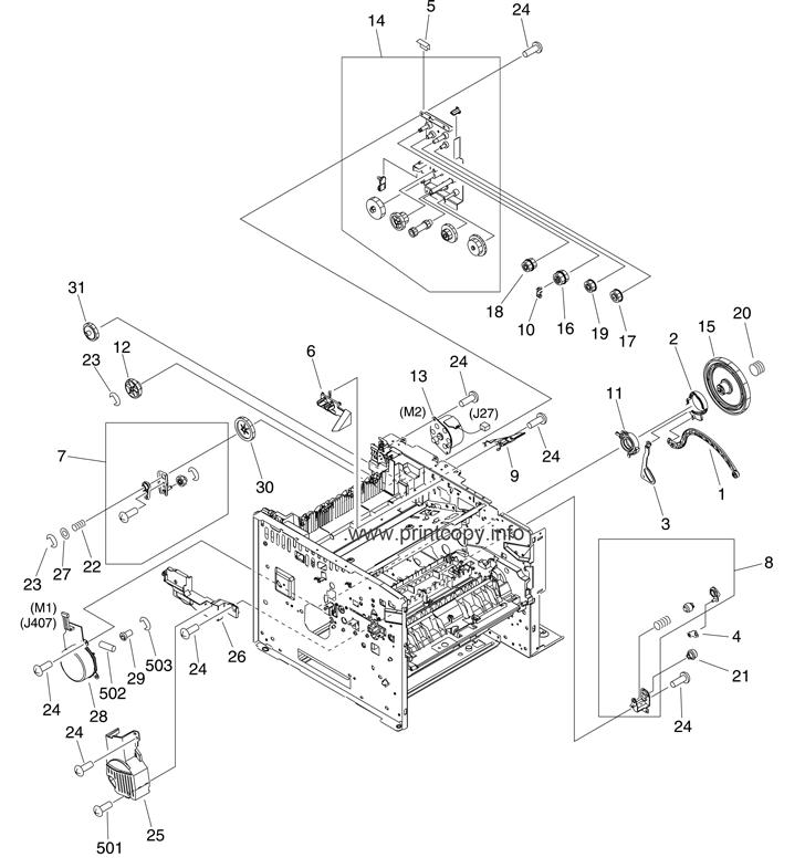 Parts Catalog > HP > LaserJet M3035 MFP > page 4