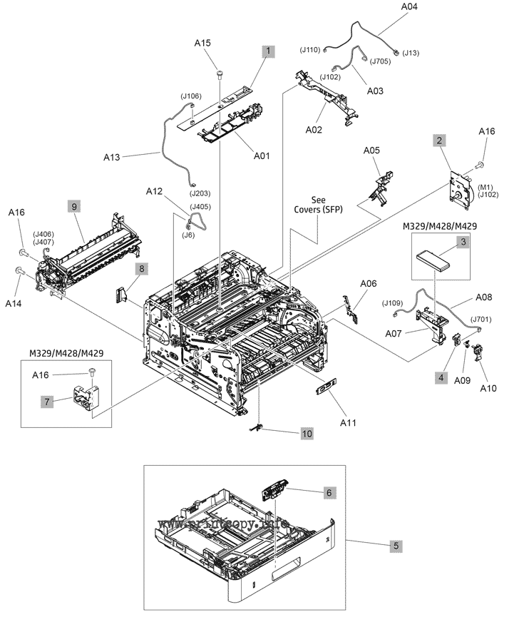 Parts Catalog > HP > LaserJet Pro M404dn > page 5
