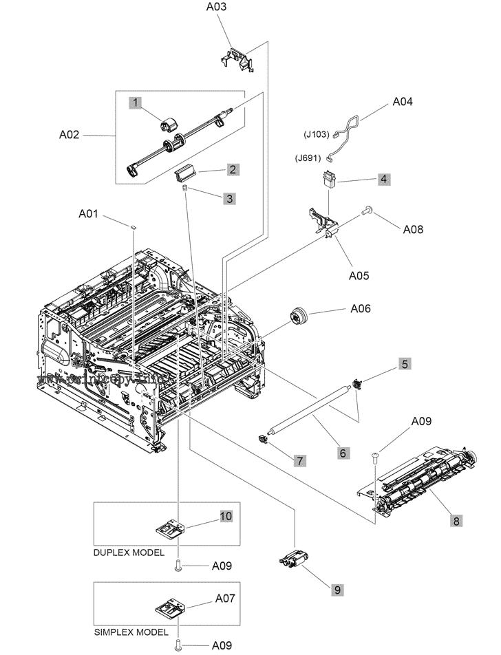 Parts Catalog > HP > LaserJet M304a Pro > page 6