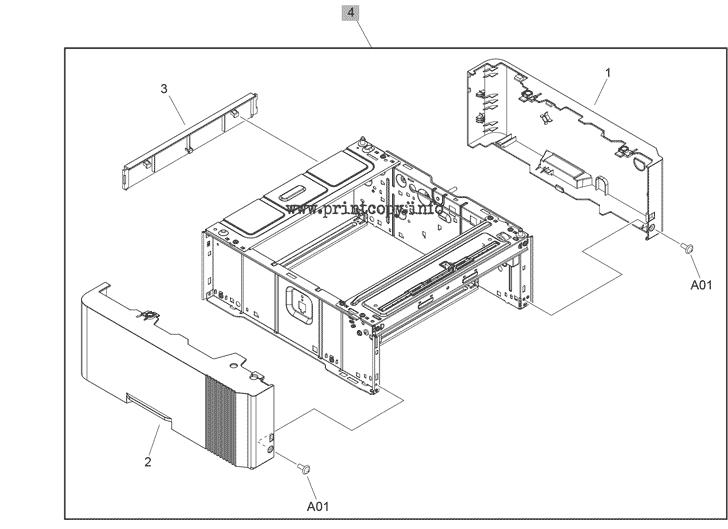 Parts Catalog > HP > LaserJet Pro MFP M428fdw > page 7