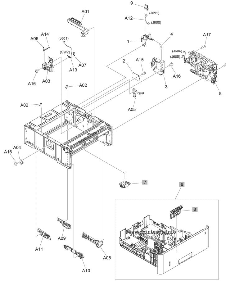 Parts Catalog > HP > LaserJet Pro MFP M428fdw > page 8