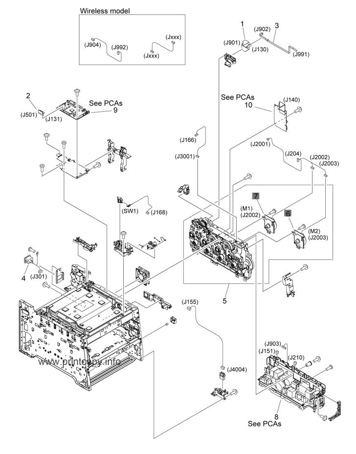 Parts Catalog > HP > LaserJet M451 Pro 400 Color > page 5