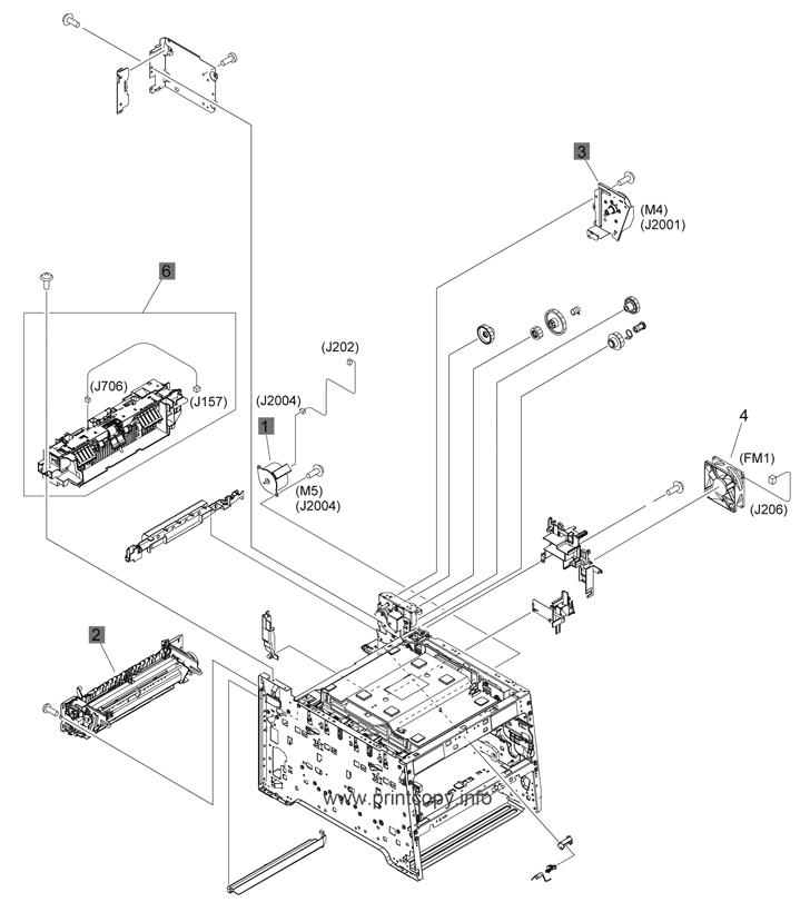 Parts Catalog > HP > LaserJet Pro 400 Color M451 > page 6