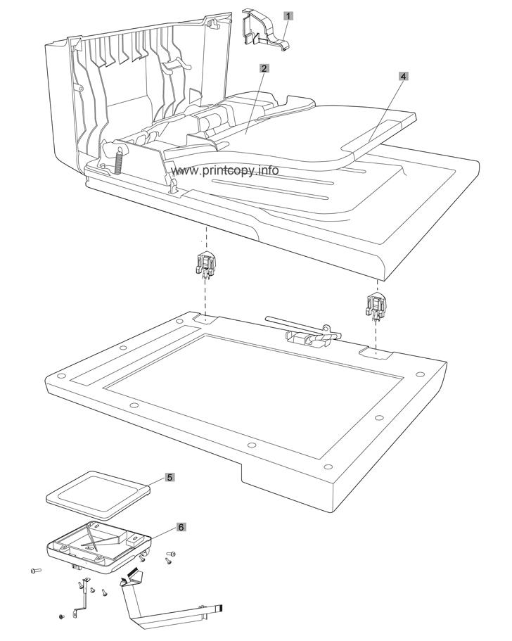 Parts Catalog > HP > LaserJet Pro Color MFP M475 > page 1