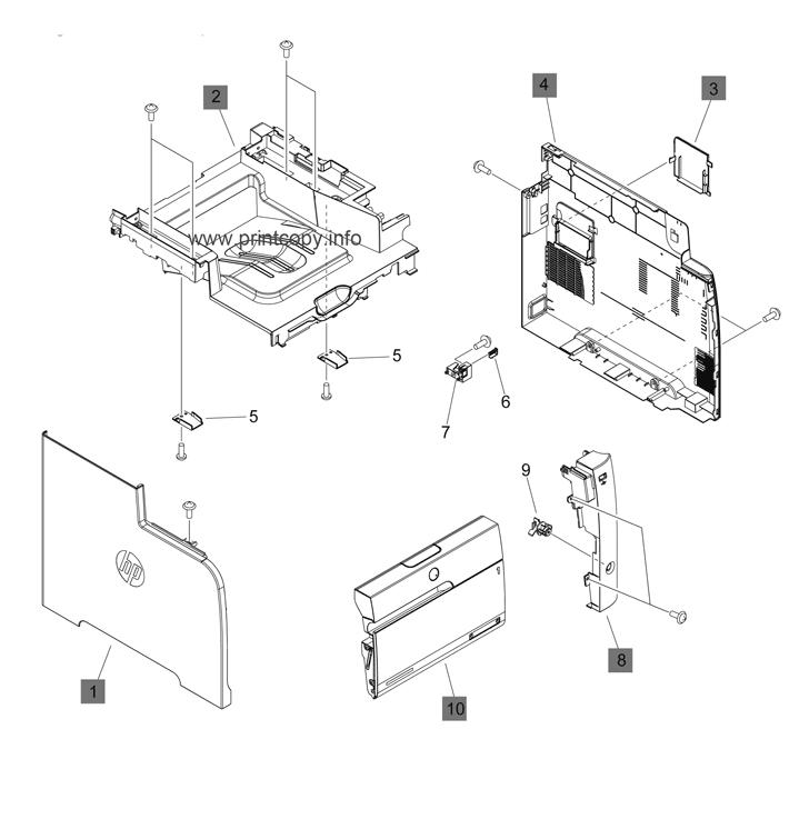 Parts Catalog > HP > LaserJet M475 Pro Color MFP > page 2