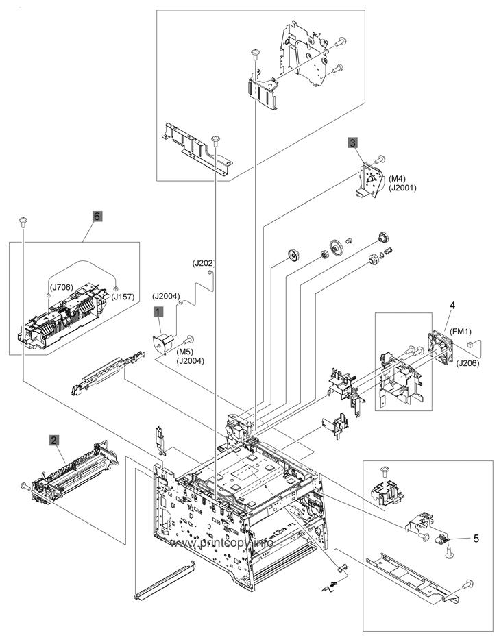 Parts Catalog > HP > LaserJet Pro Color MFP M475 > page 7
