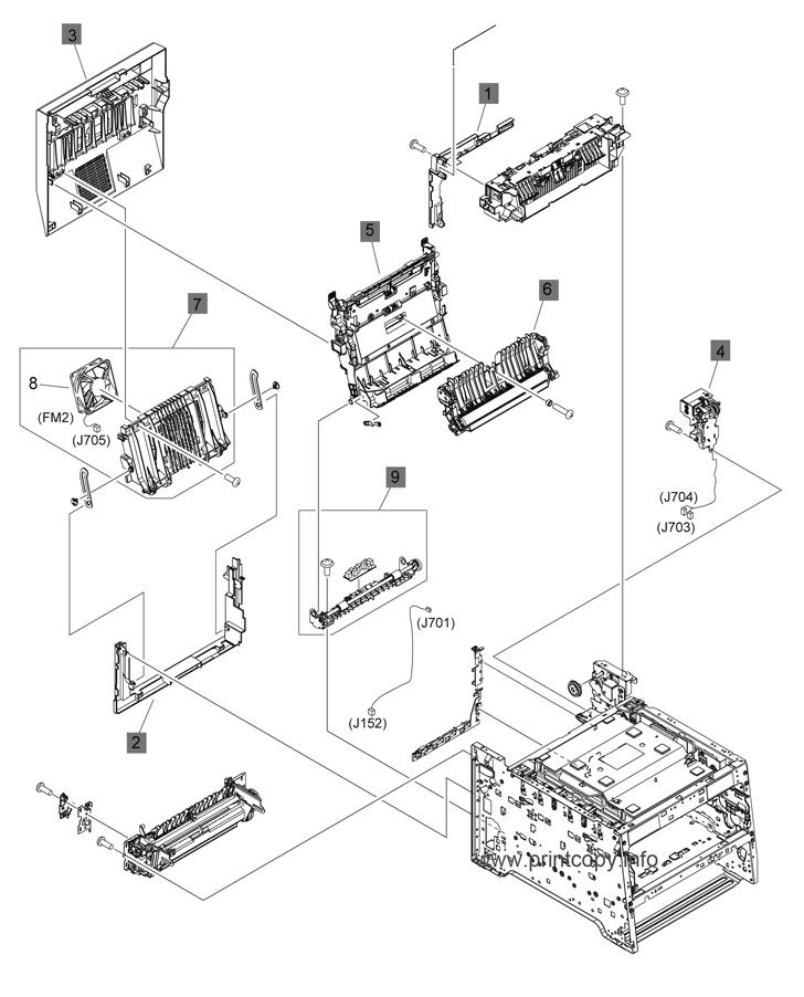 Parts Catalog > HP > LaserJet Pro Color MFP M475 > page 9