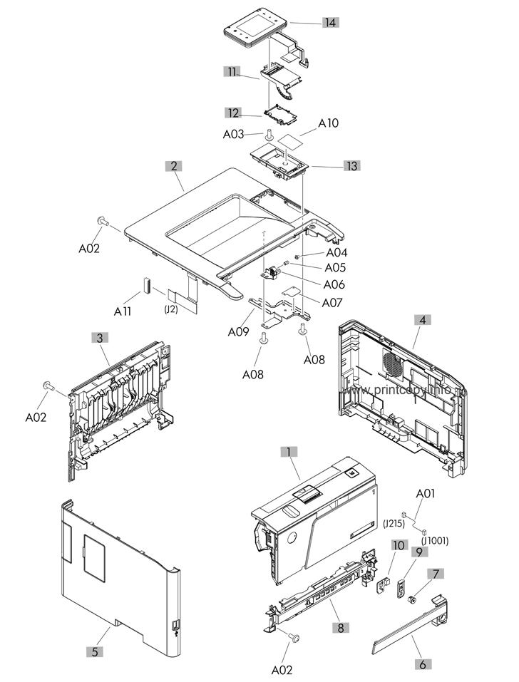 Parts Catalog > HP > LaserJet Pro 400 M401 > page 2