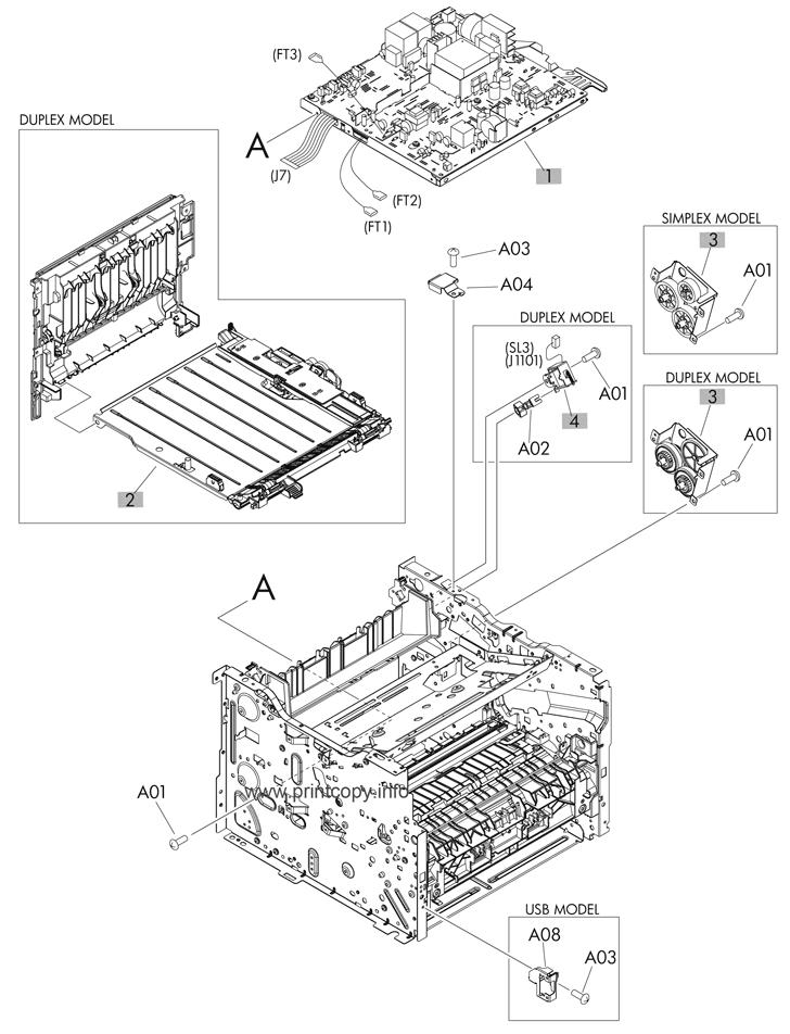 Parts Catalog > HP > LaserJet M401dn Pro 400 > page 7