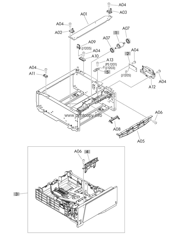 Parts Catalog > HP > LaserJet Pro 400 M401 > page 11
