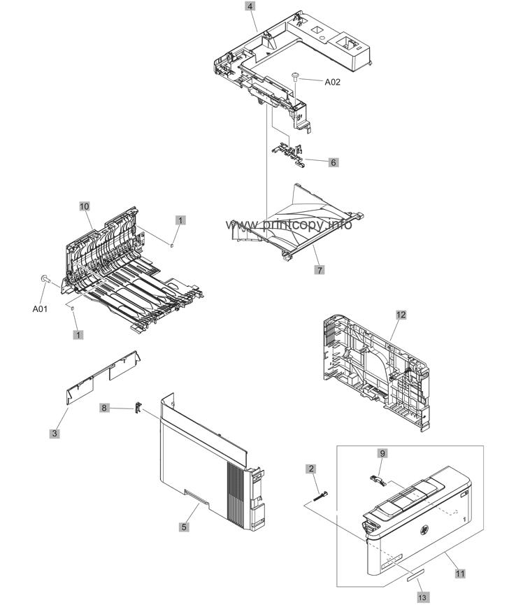 Parts Catalog > HP > LaserJet M426fdn Pro MFP > page 3