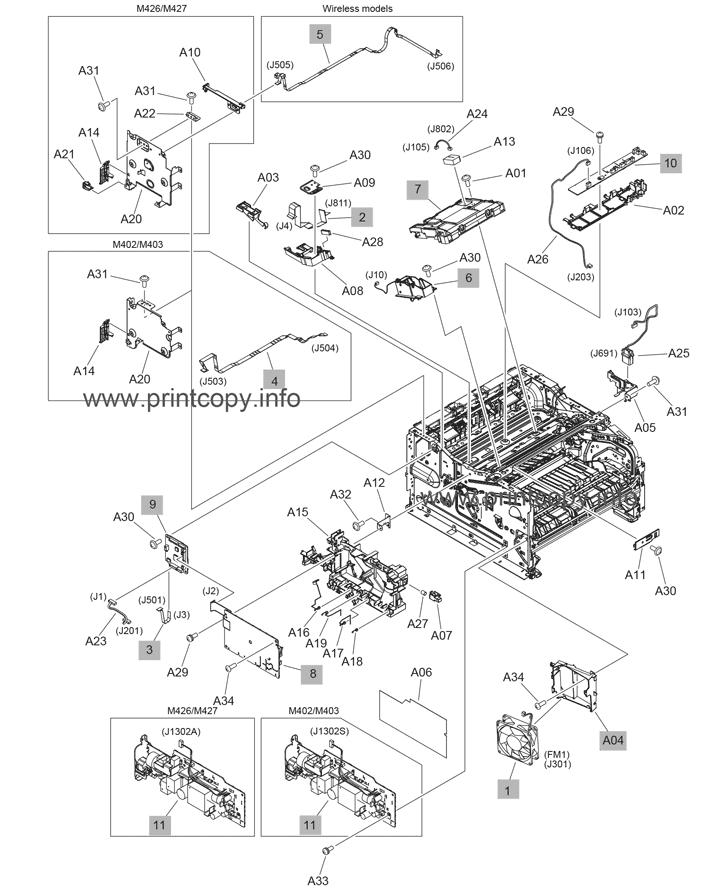Parts Catalog > HP > LaserJet M426fdn Pro MFP > page 4