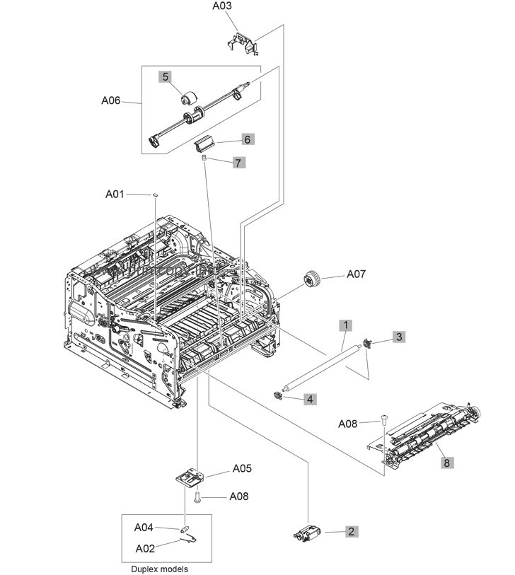 Parts Catalog > HP > LaserJet Pro MFP M426 > page 6
