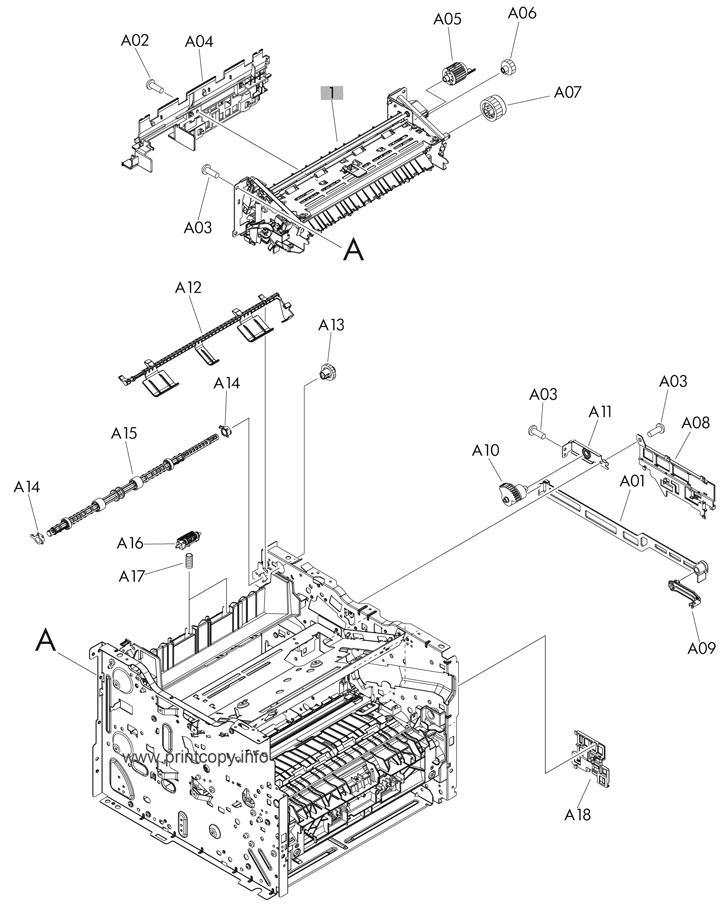 Parts Catalog > HP > LaserJet Pro 400 MFP M425 > page 2