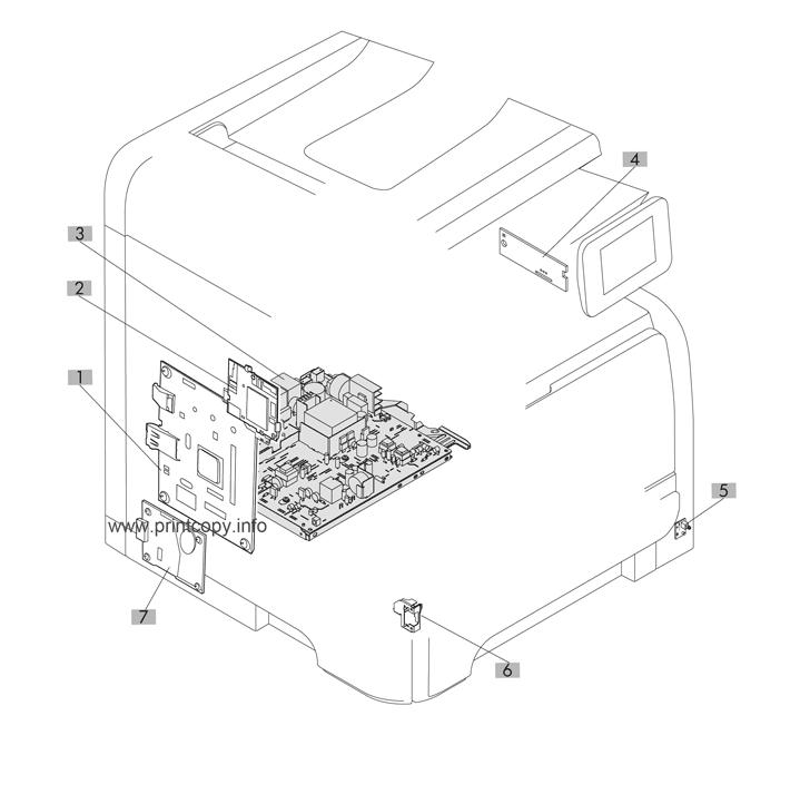 Parts Catalog > HP > LaserJet Pro 400 MFP M425 > page 7