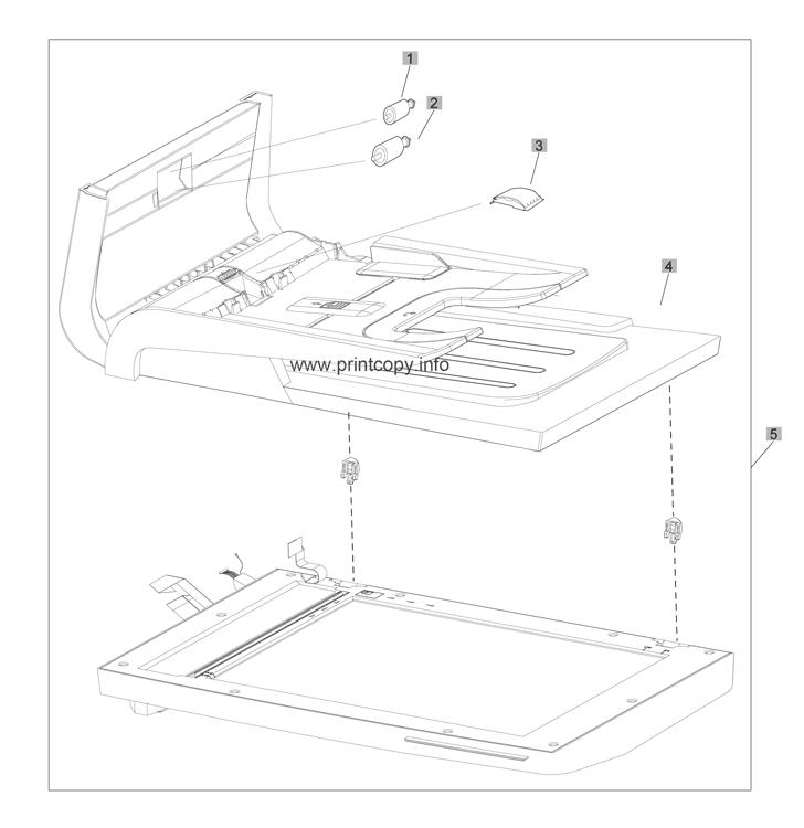 Parts Catalog > HP > LaserJet M425 Pro 400 MFP > page 8