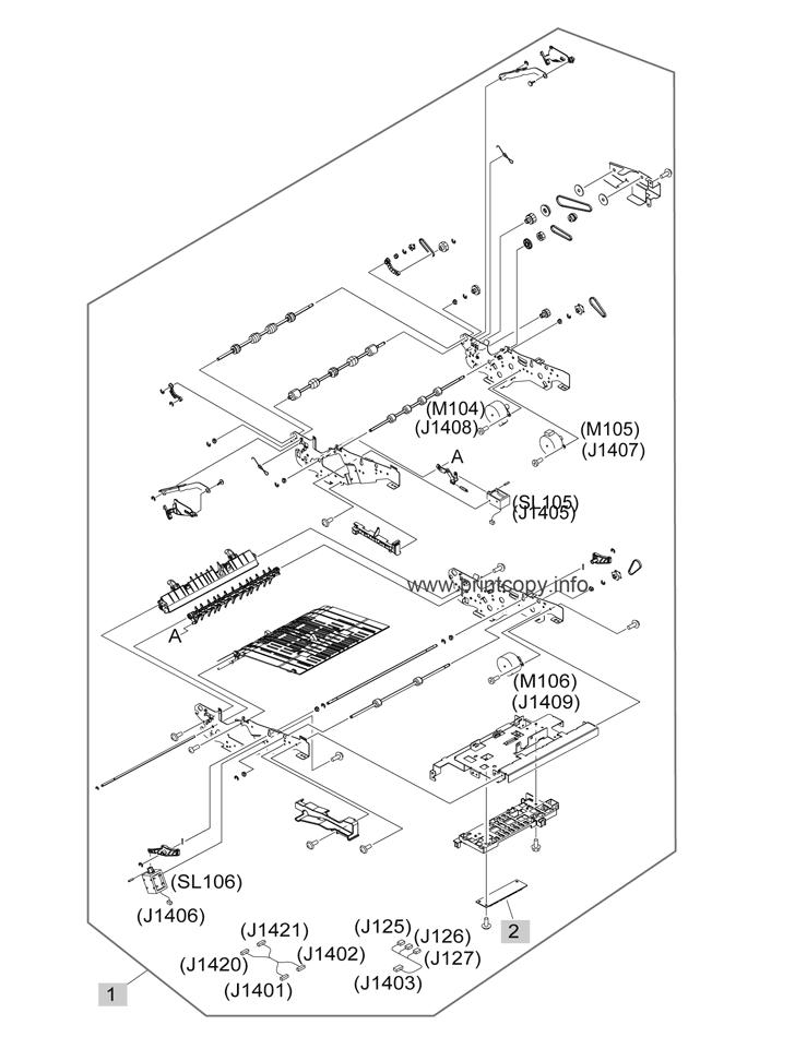 Parts Catalog > HP > LaserJet Enterprise M4555 MFP > page 11