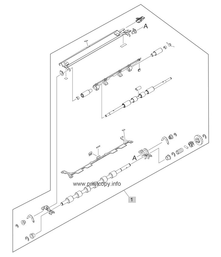 Parts Catalog > HP > LaserJet Enterprise M4555 MFP > page 13