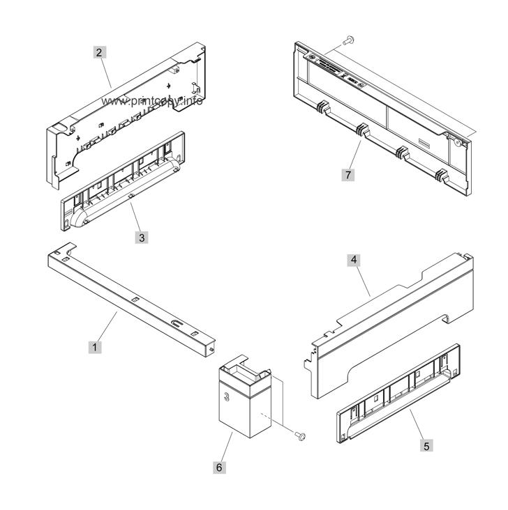Parts Catalog > HP > LaserJet Enterprise M4555 MFP > page 18