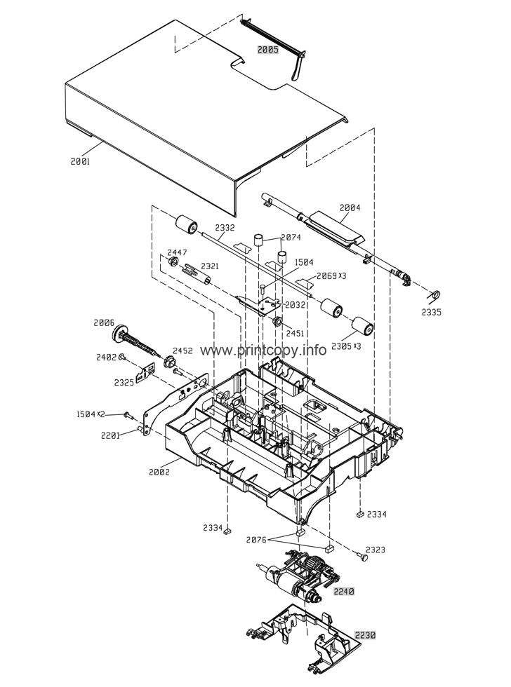 Parts Catalog > HP > LaserJet Enterprise M4555 MFP > page 30