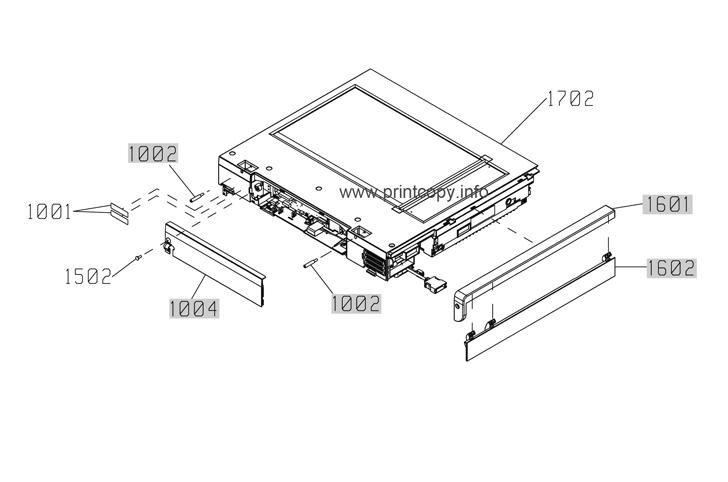 Parts Catalog > HP > LaserJet Enterprise M4555 MFP > page 33