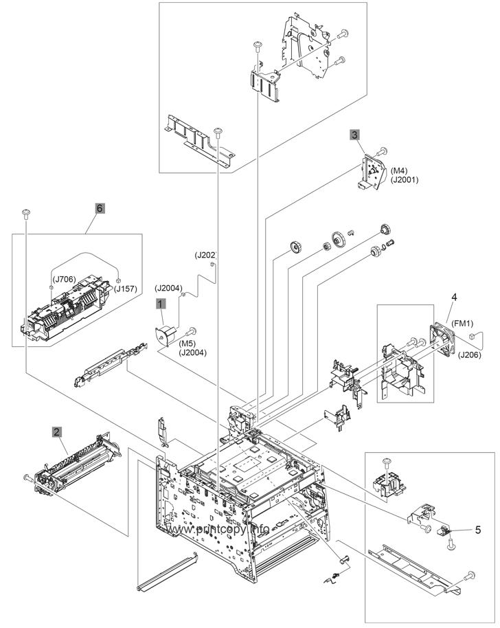 Parts Catalog > HP > LaserJet Pro Color MFP M476 > page 7