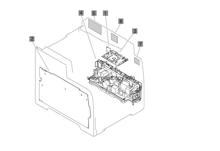 Parts Catalog > HP > LaserJet M476dw Pro Color MFP > page 10
