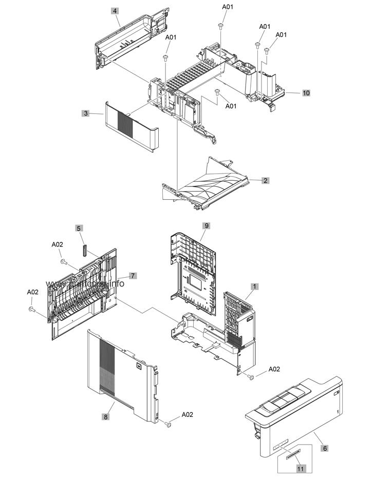 Parts Catalog > HP > LaserJet Enterprise MFP M527 > page 3