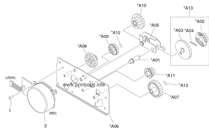 Parts Catalog > HP > LaserJet M5035 MFP > page 28