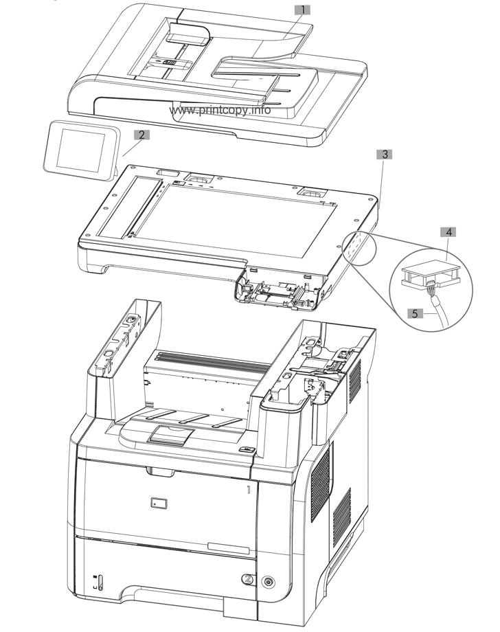 Parts Catalog > HP > LaserJet Pro MFP M521 > page 2
