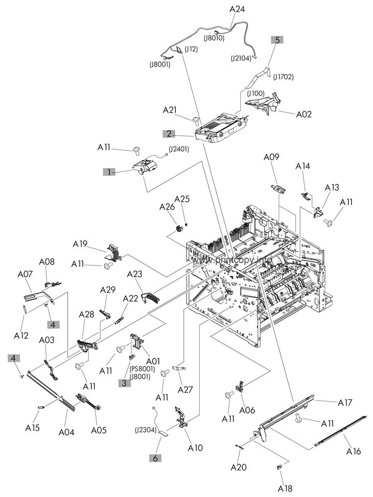 Parts Catalog > HP > LaserJet M521dn Pro MFP > page 5