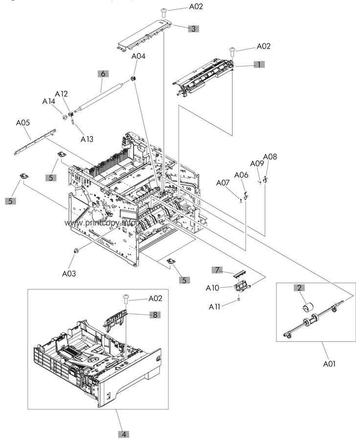 Parts Catalog > HP > LaserJet Pro MFP M521 > page 7
