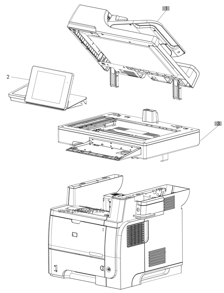 Parts Catalog > HP > LaserJet Enterprise Flow MFP M525