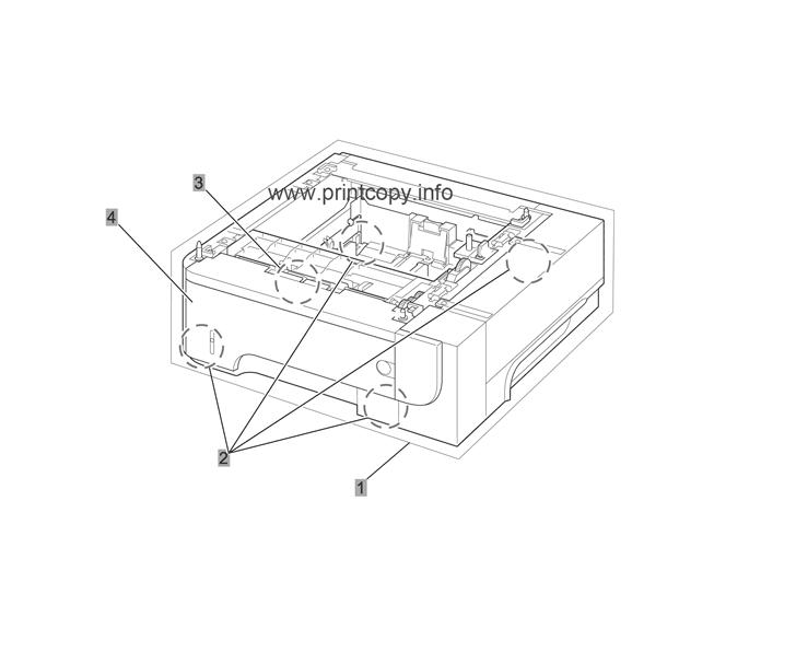 Parts Catalog > HP > LaserJet M525 Enterprise 500 MFP