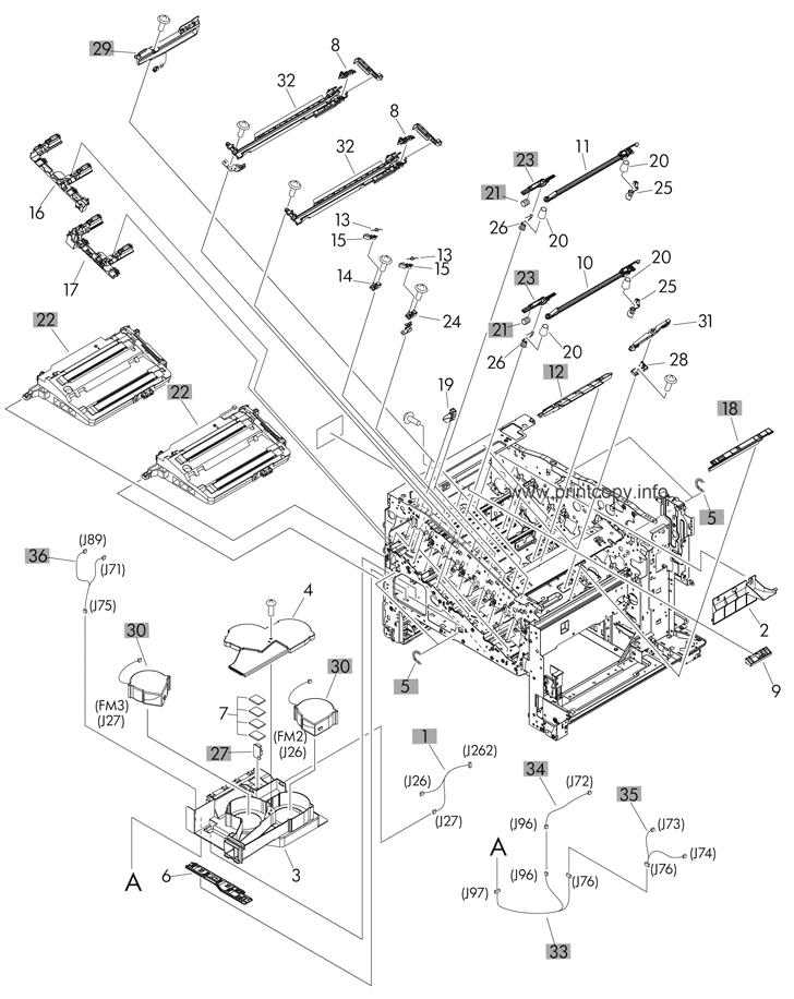 Parts Catalog > HP > LaserJet M551n Enterprise 500 > page 4