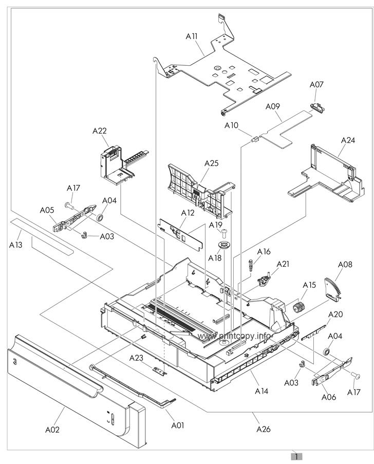 Parts Catalog > HP > LaserJet Enterprise 500 Color M551