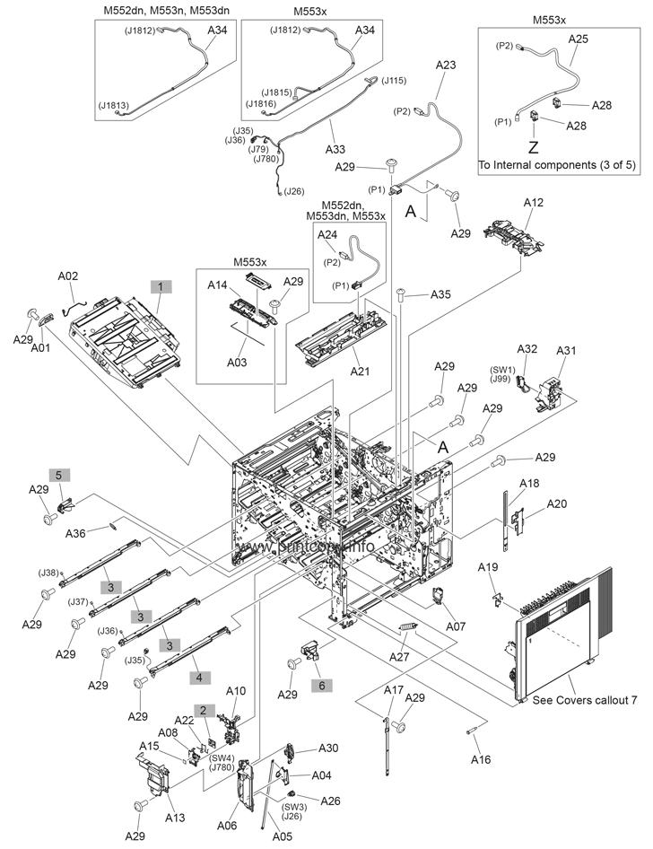 Parts Catalog > HP > LaserJet Enterprise MFP M577 > page 4