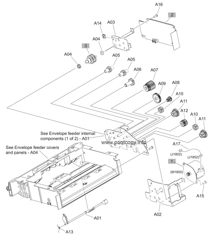 Parts Catalog > HP > LaserJet Enterprise M606 > page 10