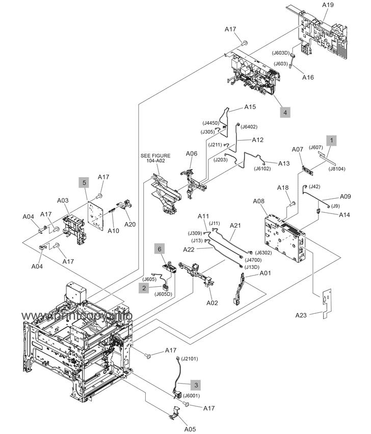 Parts Catalog > HP > LaserJet Enterprise MFP M632 > page 14