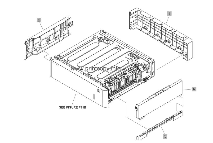 Parts Catalog > HP > LaserJet Enterprise MFP M632 > page 17
