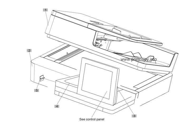 Parts Catalog > HP > LaserJet Enterprise MFP M630 > page 1