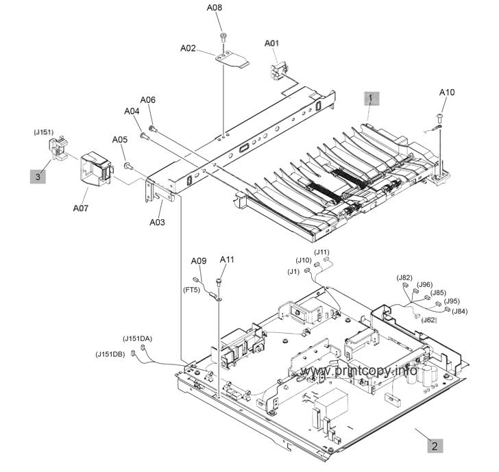 Parts Catalog > HP > LaserJet Enterprise MFP M630 > page 13