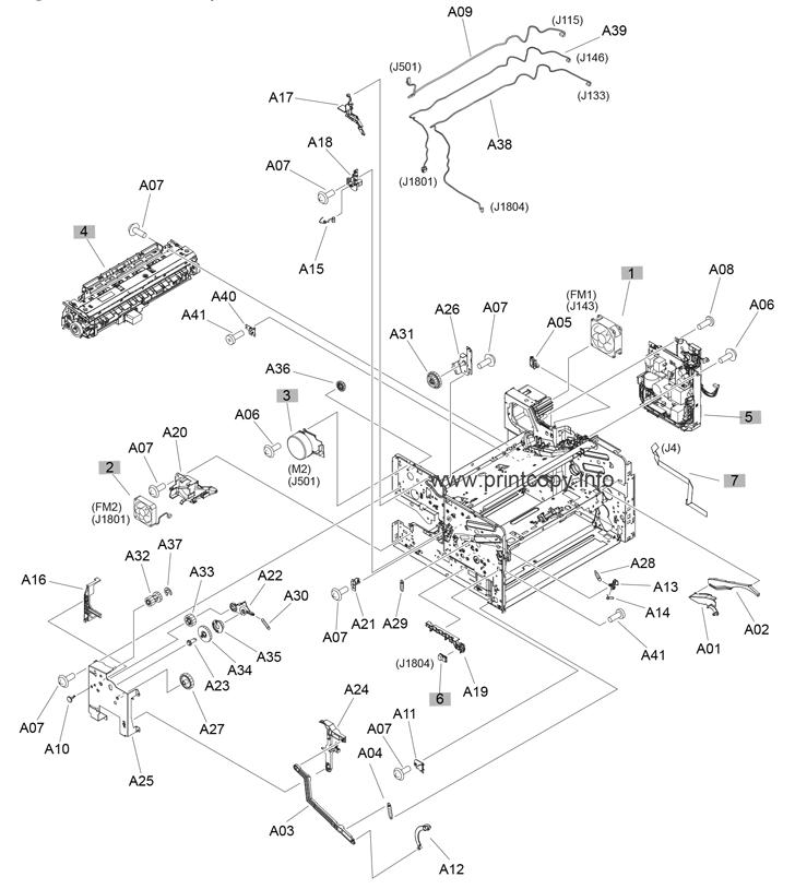 Parts Catalog > HP > LaserJet M701 Pro > page 3