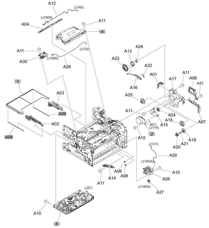 Parts Catalog > HP > LaserJet M701 Pro > page 4