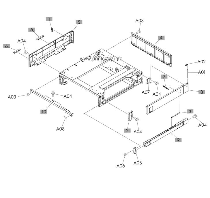 Parts Catalog > HP > LaserJet M712 Enterprise 700 > page 6