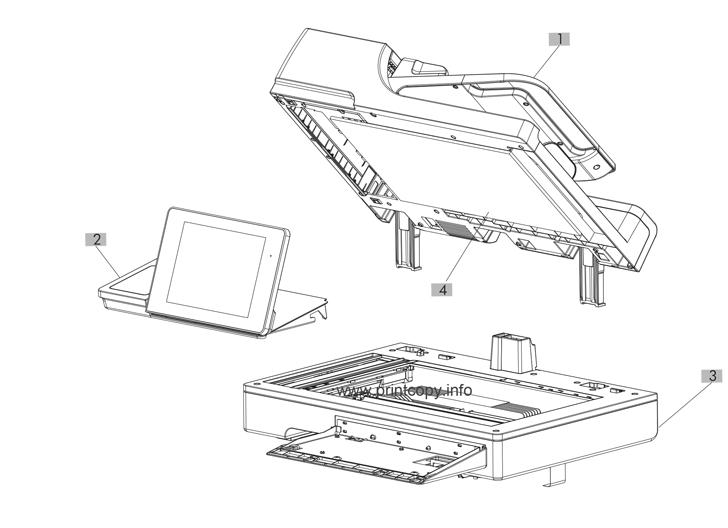 Parts Catalog > HP > LaserJet M775 Enterprise 700 color